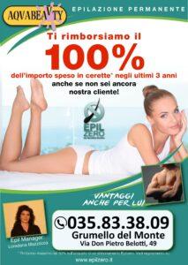 promozione depilazione definitiva epilzero grumello