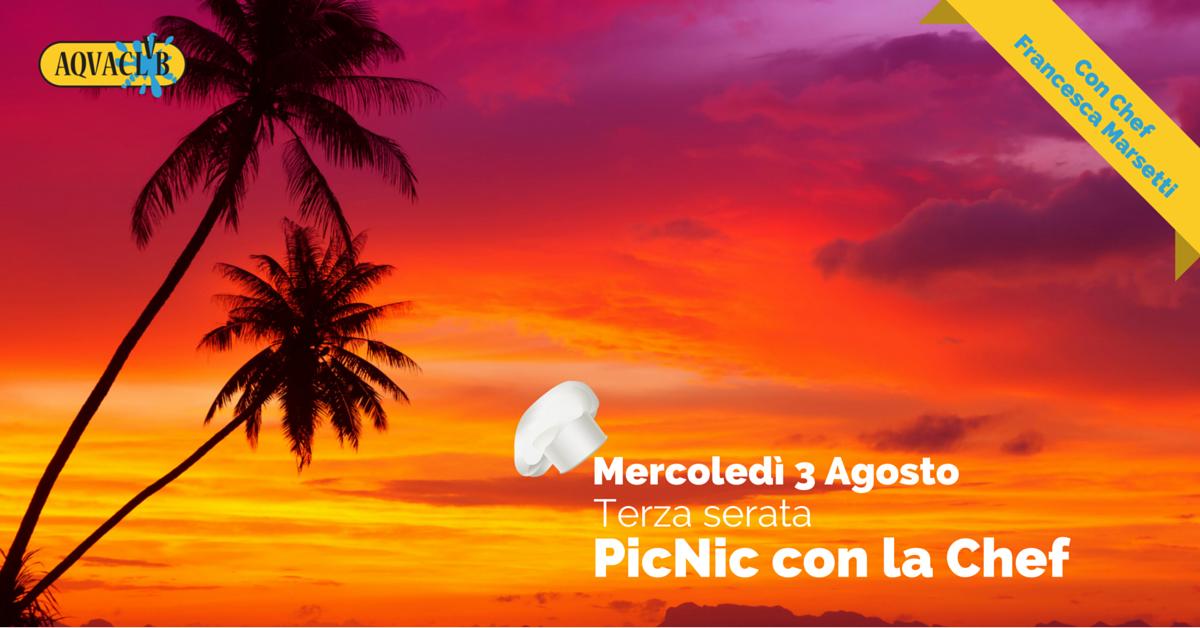 PicNic 3 agosto