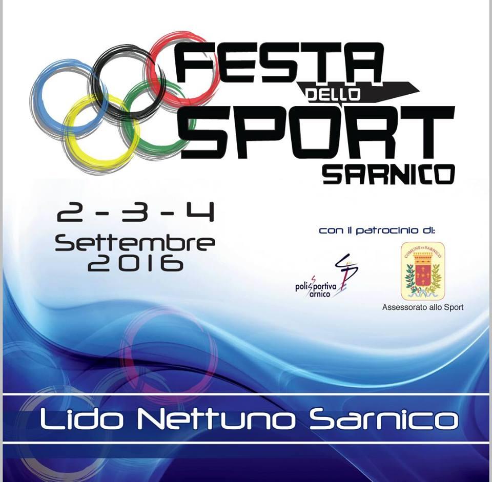 Festa dello Sport 2016 Sarnico Aquaclub Grumello