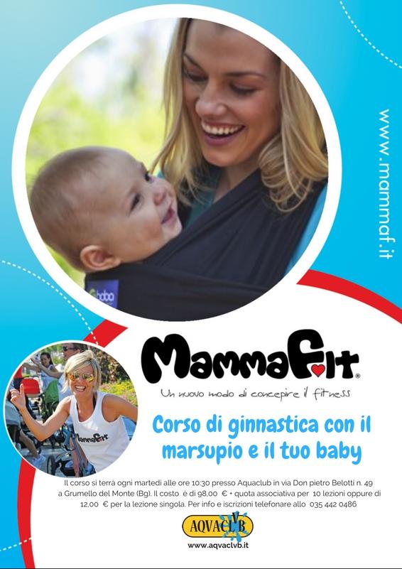 MammaFit Aquaclub palestra grumello Bergamo