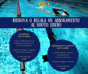 Promo Nuoto libero